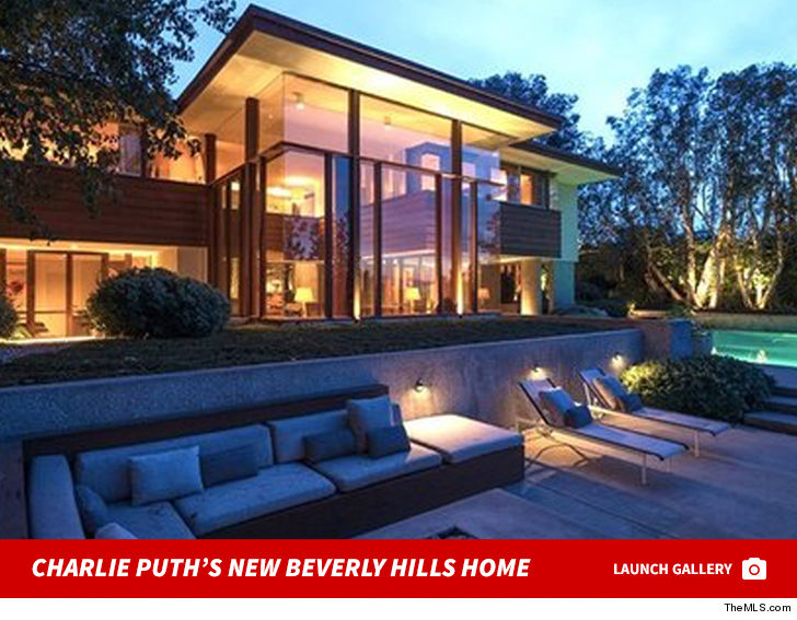 charlie puth buys cool home in beverly hills celebrity sector. Black Bedroom Furniture Sets. Home Design Ideas
