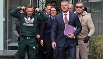 Conor McGregor Peels Out in $150k Car After Court Appearance for Speeding