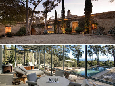 Ellen DeGeneres Slashes Price Of Santa Barbara Compound