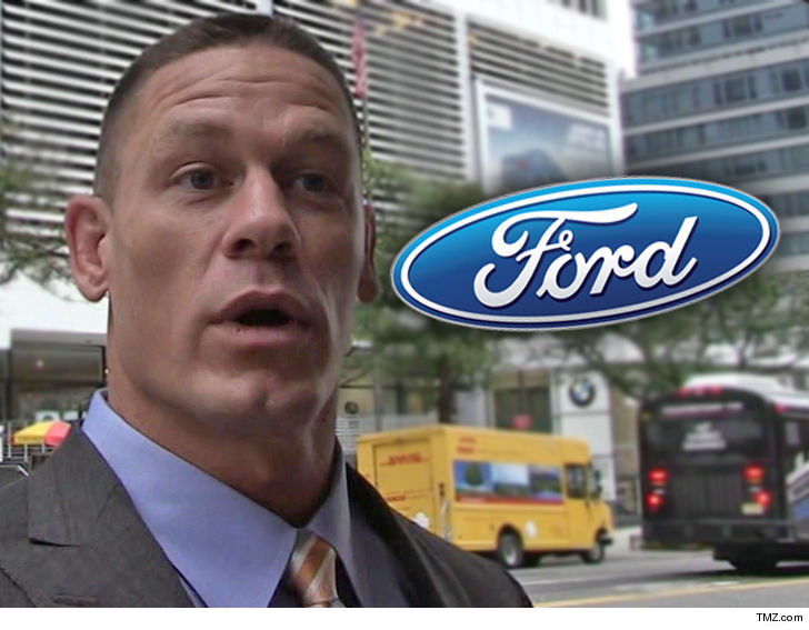 Ford sues wrestling superstar John Cena for selling his GT supercar