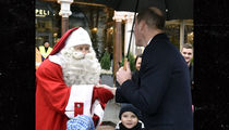 Prince William Delivers Prince George's Christmas List to Santa