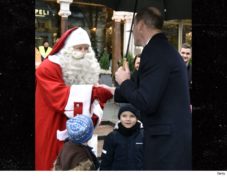 Prince George asks Santa for police vehicle