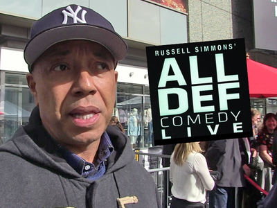 Russell Simmons' Staff and Crew at 'All Def Comedy Live' Have His Back
