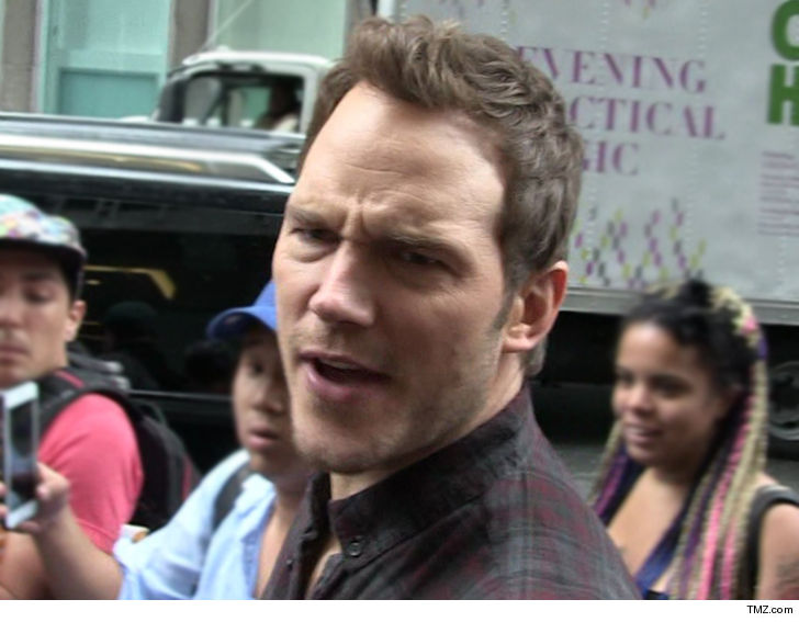 Chris Pratt warns of 'pervy dude' doppelganger