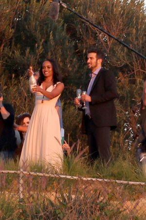 'Bachelorette' Rachel Lindsay -- Engagement Party Pics