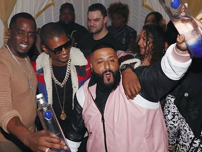 DJ Khaled Gets Massive Birthday Party Hosted by FOX's 'The Four' Pal Diddy