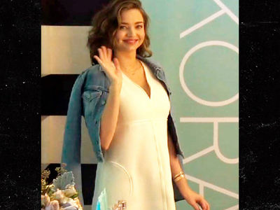 Miranda Kerr Shows Off Baby Bump After Announcing Pregnancy with Evan Spiegel