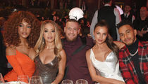 Conor McGregor Flossin' w/ Versace, Rita Ora & Lewis Hamilton at Fashion Awards