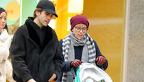 Scarlett Johansson and Ex-Husband Co-Parenting While Christmas Shopping