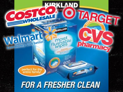 Costco, Walmart and Target Sued Over Flushable Wipes