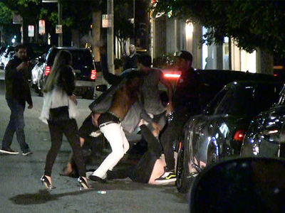 Twins Beat Down Outside Nightclub Where Houston Rockets Were Partying