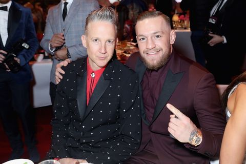 Jefferson Hack & Conor McGregor