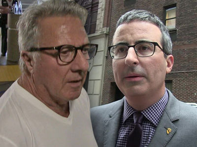 John Oliver Goes After Dustin Hoffman for His Sexual Harassment