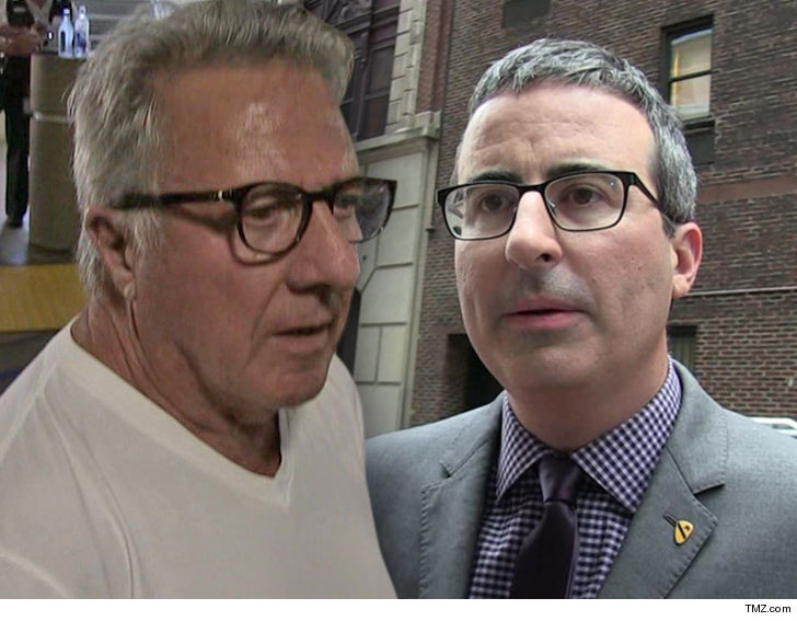 John Oliver Goes After Dustin Hoffman for His Sexual ...