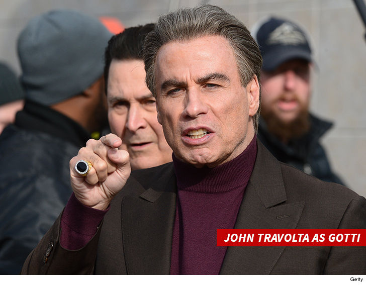 John Travolta calls movie dumping 'fake news'