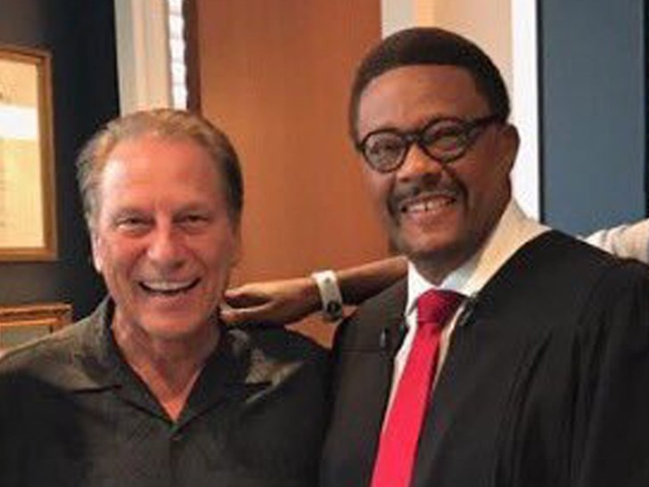 Tom Izzo The Happiest Man on Earth ... in 'Judge Mathis' Cameo