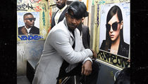 Jamie Foxx Gets Support from GF Katie Holmes at Sunglasses Event