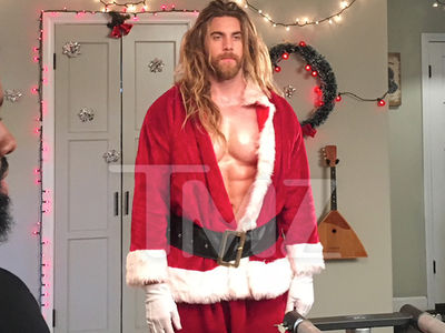 Brock O'Hurn is Back to Quench Your Thirst as Sexy Santa