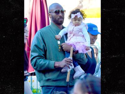 Kobe Bryant & Fam Hit Disneyland for Baby Mamba's 1st Birthday