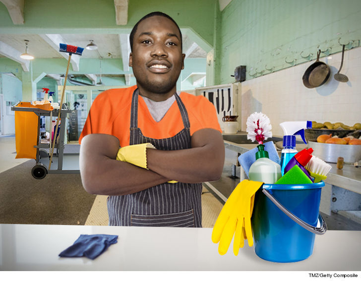 Meek Mill Working Multiple Jobs In Prison
