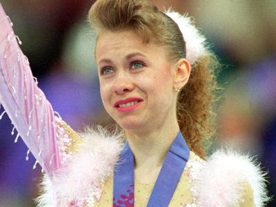Olympic Figure Skater Oksana Baiul 'Memba Her?!
