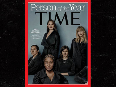 TIME Person Of The Year, The Silence Breakers in Sexual Harassment Scandal