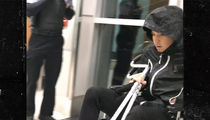 NBA's Devin Booker In Wheelchair w/ Crutches After Groin Injury