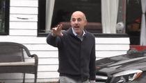Matt Lauer Goes on Food Run at Long Island Deli