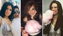 Sugar Lovin' Stars to Celebrate National Cotton Candy Day!