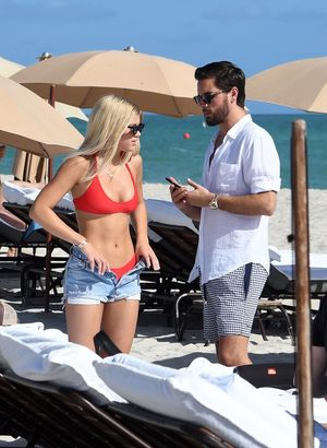 Scott Disick and Sofia Richie -- Miami Beach Day