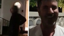 Simon Cowell's Neighbor Goes Nuts On Mogul about Parking, Threats Caught on Video