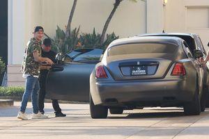 Johnny Manziel -- Full Ride in Rolls-Royce