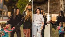 Kendall Jenner Joins Kourtney Kardashian, Larsa Pippen and Their Kids Ice Skating