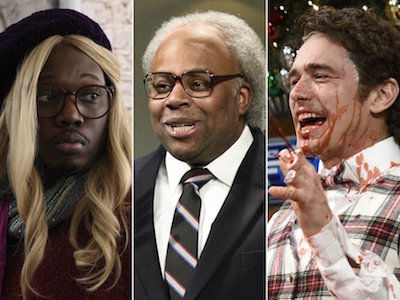 James Franco's 'SNL' -- See Which Sketches Killed and Which Ones BOMBED!