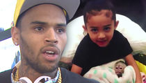 Chris Brown's Daughter Didn't Get the Monkey, It's His Pet