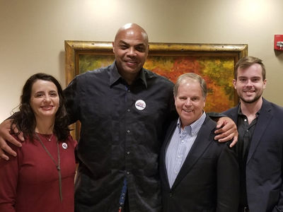 Charles Barkley Appearing at Roy Moore Opponent's Rally