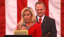 Roy Moore's Wife Responds to Anti-Semitic Claims