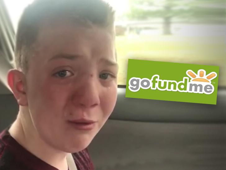 Keaton Jones Fundraising >> Bullied Student Keaton Jones GoFundMe Page On Hold, $58k Left Hanging | TMZ.com