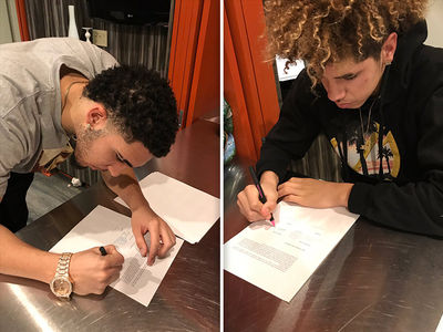 LiAngelo and LaMelo Ball: 'It's Not About the Money' in Lithuania