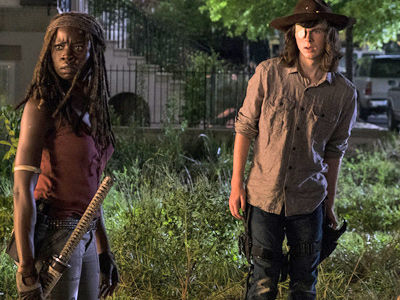 Carl Is Officially DEAD -- 'Walk Dead' Star Just Cut Off ALL His Hair!