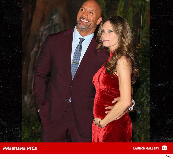 Dwayne 'The Rock' Johnson and Pregnant GF Debut Baby Bump