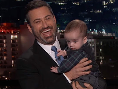 Jimmy Kimmel Brings Son Billy On Stage After Heart Surgery for EMOTIONAL Monologue