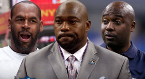 Marshall Faulk Pinned Woman Against Wall,…