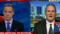 Roy Moore Spokesman Ted Crockett Stunned to Silence by Bible, Law Lesson