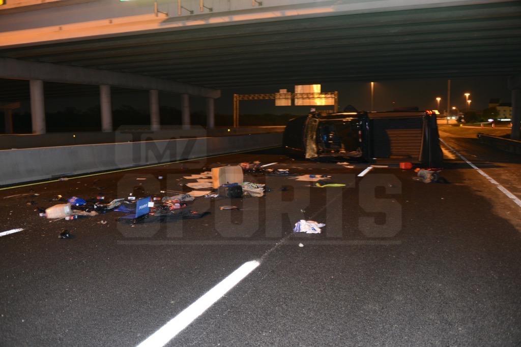 Terry Glenn Car Crash Photos