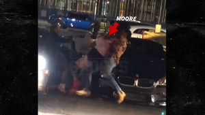 NFL's Damontre Moore In Crazy Street Brawl, Possible Gunshot Fired