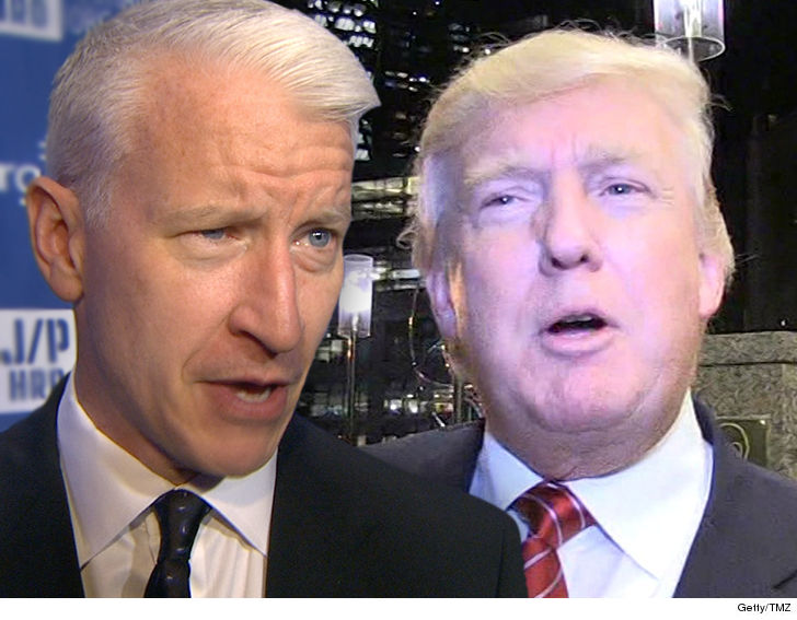 Anderson Cooper swears he wasn't behind tweet calling Trump 'pathetic loser'
