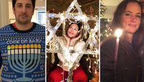 Stars Celebrating Hanukkah -- See Who's Gettin' Lit!