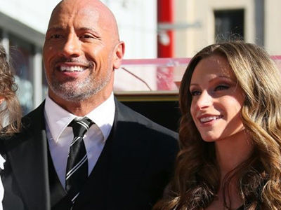 The Rock's ADORABLE Daughter Steals Spotlight at Actor's Walk of Fame Ceremony