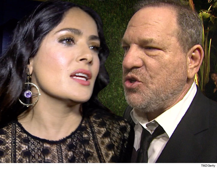 Weinstein is a rage-fuelled monster, says Salma Hayek